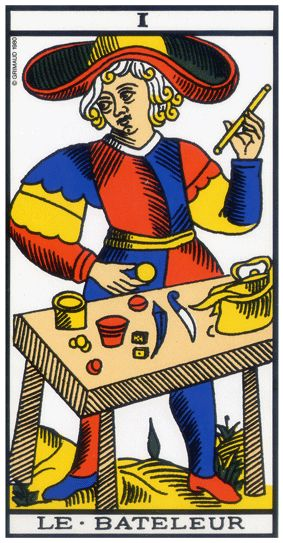 bf5367e824b11b Le Tarot de l art d aimer   Le Bateleur