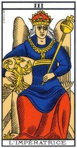 L'IMPERATRICE (Arcane III)