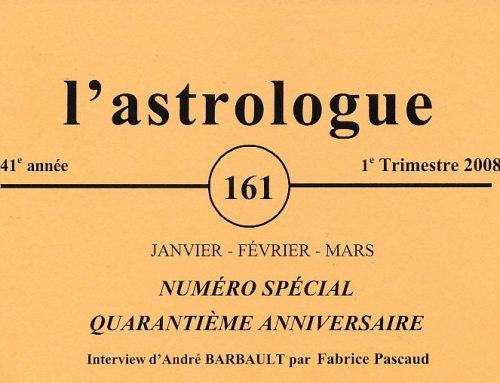 Les 40 ans de L'astrologue