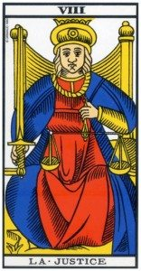 Tarot : La Justice (Arcane VIII)