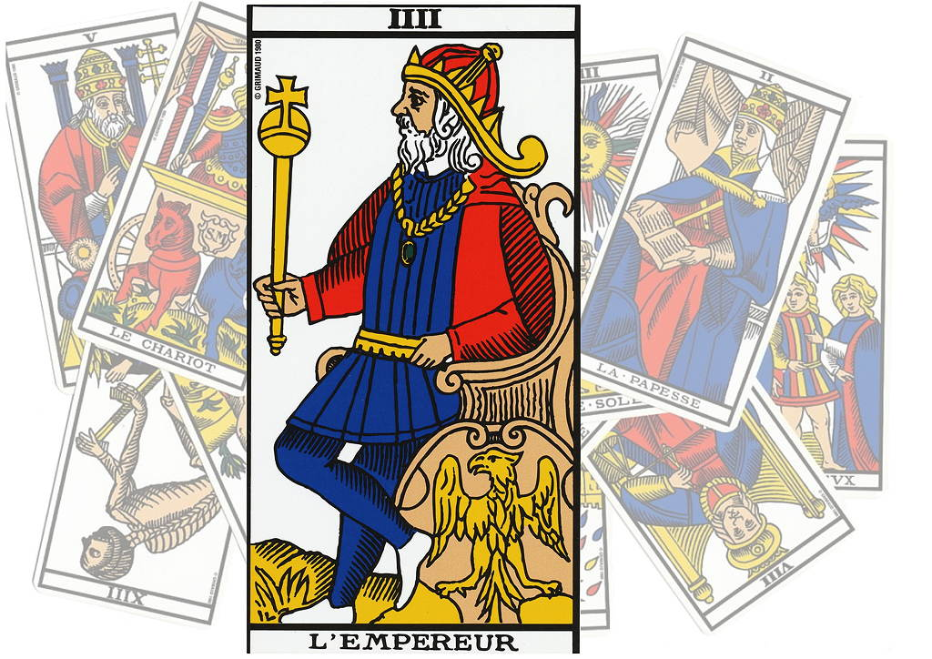 6f788365fd15b Le Tarot de l art d aimer   L Empereur