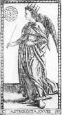 L'astrologie - Tarot de Mantegna