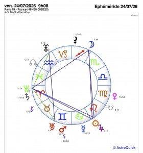 Ephéméride 24 07 26