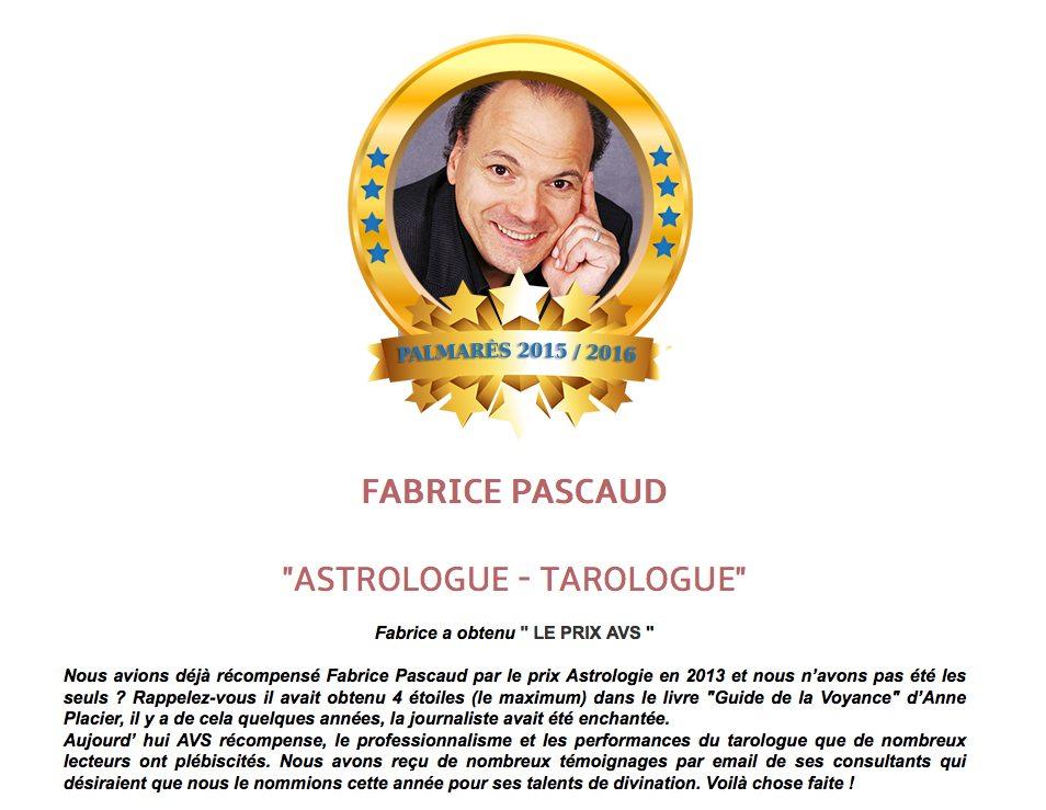 Palmarès 2015 - 2016