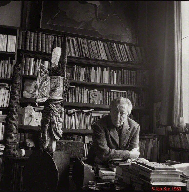 André Breton © Ida Kar 1960