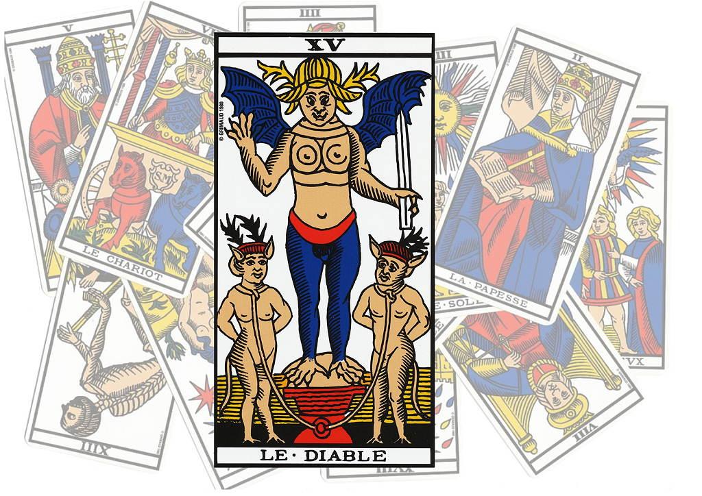 Carte Tarot Diable.Le Tarot De L Art D Aimer Le Diable Fabrice Pascaud