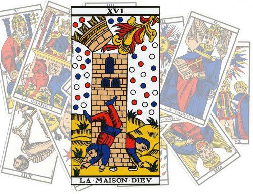 Le Tarot de l'art d'aimer : La Maison Dieu