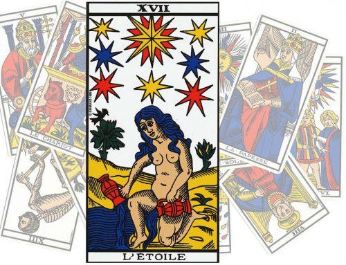 Le Tarot de l'art d'aimer : L'Etoile